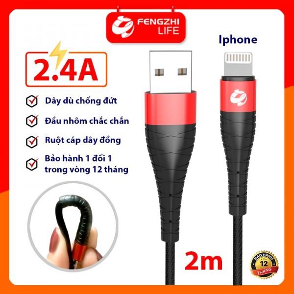 CÁP IPHONE FENGZHI X123 2M